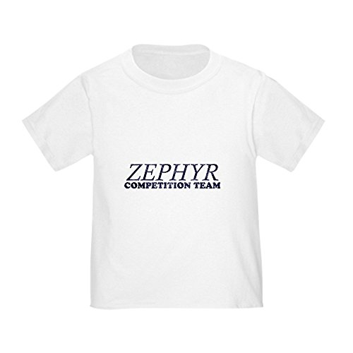 CafePress Zephyr Competition Team Toddler T-Shirt Cute Toddler T-Shirt, 100% Cotton White