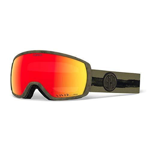 Giro Balance Snow Goggles Olive Dye Line - Vivid Ember
