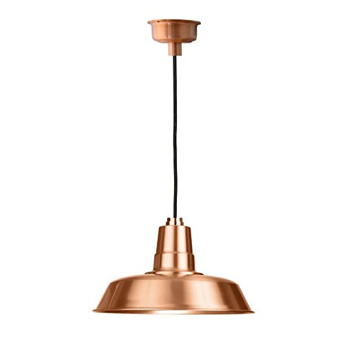Cocoweb 12'' Oldage LED Pendant Light in Solid Copper by Cocoweb