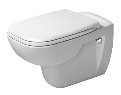 Duravit 25350900922 Toilet wm 545mm D-Code white washdown model, US-version, Medium, by Duravit