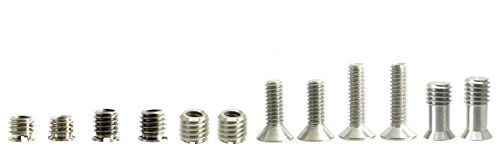 (Tripod Screw & Bushing Assortment 1/4