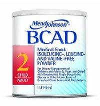 Mead Johnson Nutritionals 891501 BCAD 2 Powder Diet Metabolic 1lb Can 6/Ca by Mead Johnson Nutritionals