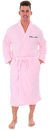 Embroidered Bath Robe - 7