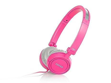 Fone de Ouvido Headphone Rosa Edifier H650