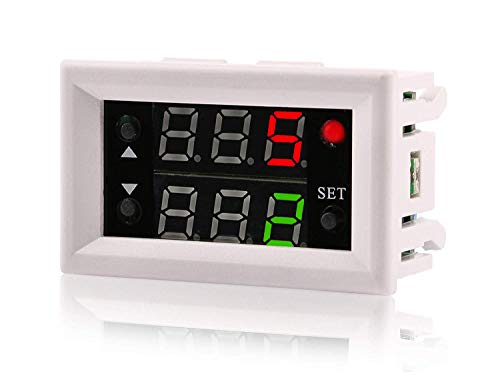 Digital Cycle Delay Timer Switch,Yeeco DC 5V 12V 24V Timing Relay Switch,18  Multifunctional Automotive Relay Module Power Off Support Cycle of Time