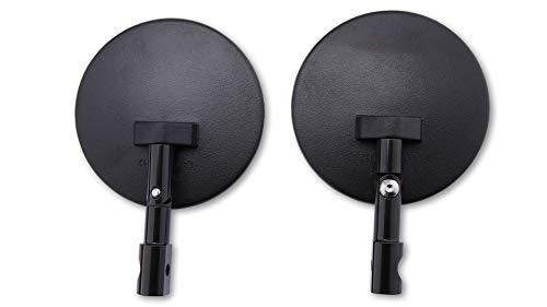 SHIN YO 301-078-100 Spiegel voor stuur, rond, zwart, verstelbaar