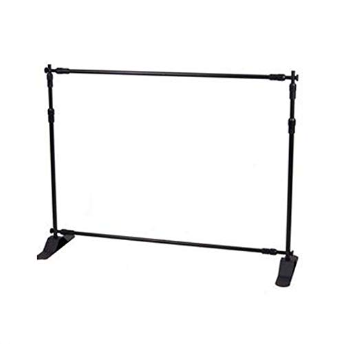 FidgetKute New 3.6ft-8ft Width 3ft-8ft Height Adjustable Step and Repeat Advertising Banner