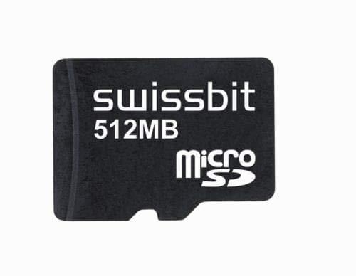Memory Cards 512MB microSD Card SLC S-455u IND Temp (SFSD0512N1BM1TO-I-ME-2A1-STD)