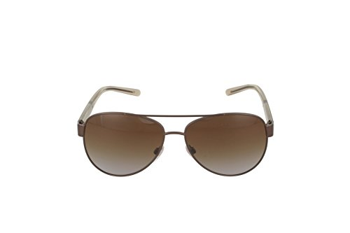 Burberry Women's Polarized BE3084-1212T5-57 Brown Aviator Sunglasses:  Burberry: Amazon.ca: Luggage & Bags