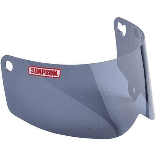 Motorcycle Dot Outlaw - SIMPSON Outlaw Bandit Snell/DOT Motorcycle Helmet Replacement Shield - Dark Smoke - Sizes Medium and Large