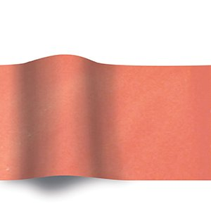 Amazon.com : American # 5601CO, Coral, Solid Color Tissue Paper ...