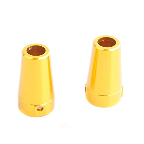 RC Gold Alum Steering Rear Knuckles Arm Upright For AXIAL 4WD 1:10 SCX10 Parts