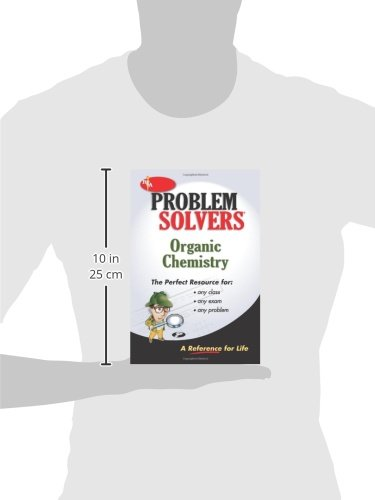 organic chemistry problem solver the editors of rea organic chemistry problem solver the editors of rea 9780878915125 books ca