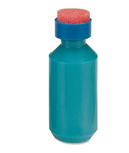 Sparco 01487 Squeeze Moistener Bottle, 2 oz. Capacity, Unbreakable, Blue