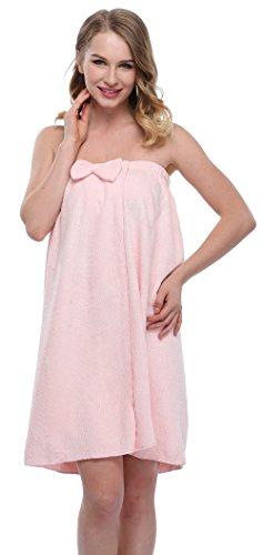 Funray - Túnica - para mujer rosa claro