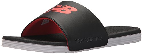 New Balance Heren Nb Pro Slide Sandaal Zwart / Wit / Rood