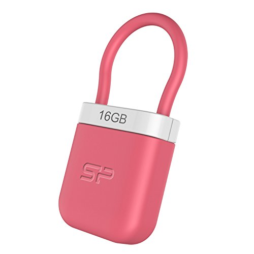 Silicon Power 16GB Flash Drive 510 USB 2.0 Flash Drive for Windows/Mac, Pink (SP016GBUF2510V1P) by Silicon Power