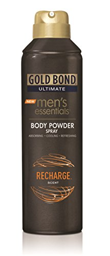 Gold Bond Men's Essentials Body Powder Spray Recharge 7 - Ingredients Bond Powder Gold
