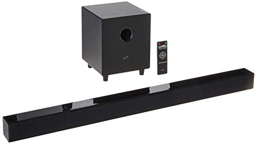 iLive 2.1-Channel Soundbar System with Wireless Subwoofer Black ITBSW397B