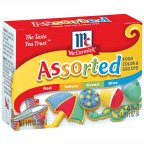 McCormick Assorted Food Colors & Egg Dye .25FZ (Pack of 24)