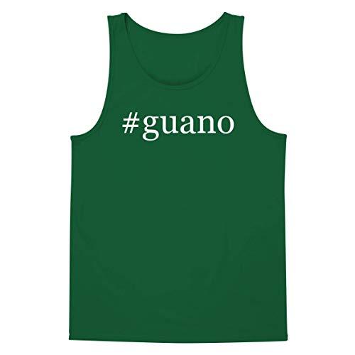 (The Town Butler #Guano - A Soft & Comfortable Hashtag Men's Tank Top, Green, Medium)