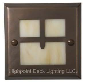 Highpoint Golden Gate Step Light - Antique Bronze