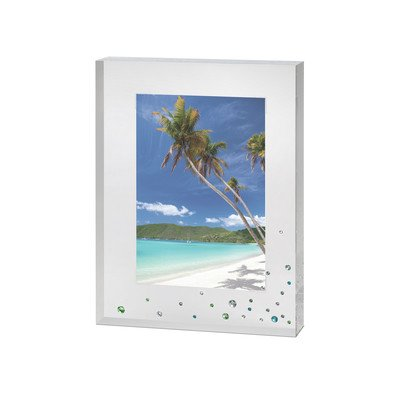 Plain Sterling Silver Photo Frame Small 35 X 25 Inches
