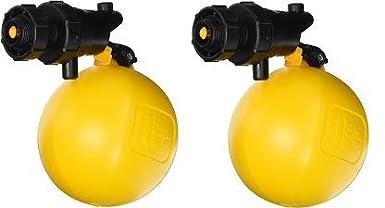 3//4 Black//Yellow Jobe Valves J-RJV20 Rojo Float Valve 2