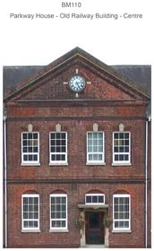 ID BACKSCENES BM304 00 GAUGE York Stone Houses Self Adhesive