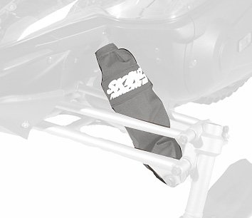 (Skinz Protective Gear SHK100-SILVER Pro Series Silver Shock Cover)
