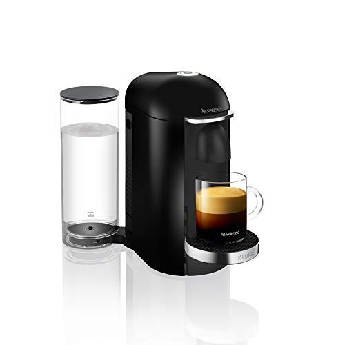 Krups Nespresso XN9008 Vertuo Plus Kaffeekapselmaschine, Automatische Kapselerkennung, 1,7 l Wassertank, 5 Tassengrößen, Schwarz/Edelstahl