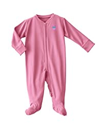 HALO ComfortLuxe Coverall Silky, Pink Cupcake, 0-3 Months