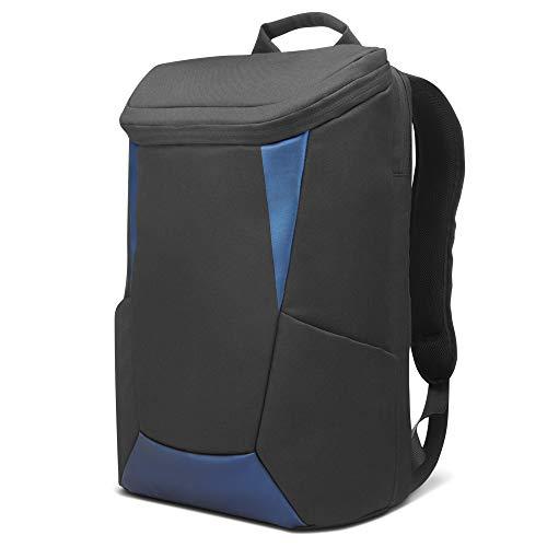 """Mochila IdeaPad Gaming Lenovo até 15.6"""" para Notebook, Preto e Azul"""