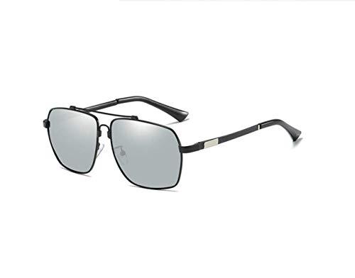 Black Polarizadas Gafas De Gafas Sol Frame Sunglasses Hombre Mercury Sol liwenjun De Hombre Driver Caja Conducción qt8zzOx