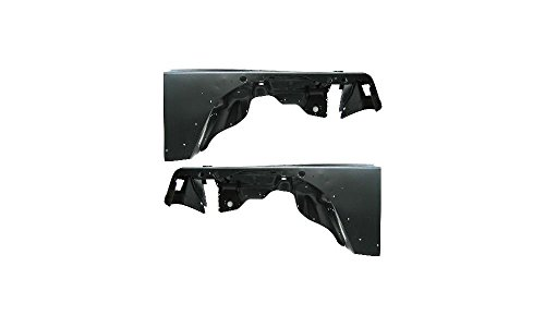 Evan-Fischer EVA16972055157 Fender for 1997-2006 Jeep Wrangler (TJ) Set of 2 Steel Primed Front Left and Right Side Replaces Partslink# CH1241225, CH1240225
