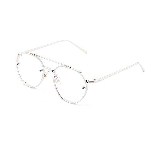de hombre Transparente AMIS sol Gafas mujer gradiente Plata aviador TWIG 1wpnZqU