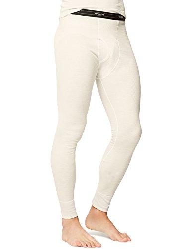 Hanes Men's Big Red Label X-Temp Thermal Pant, Natural, Medium