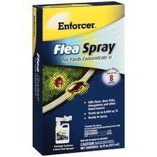 Enforcer Flea Spray for Yards Concentrate VI Kills Pests Up To 8 Weeks