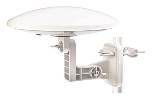 Omni-Directional Digital & DAB Outdoor Aerial with Amplifier, ideal for use...