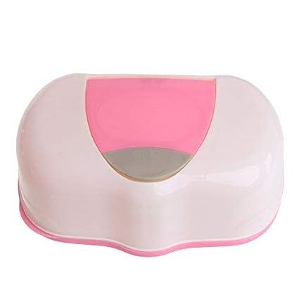 DAYNECETY caja de pañuelos para bebé caja de pañuelos de viaje toallitas caja de niños cambiador