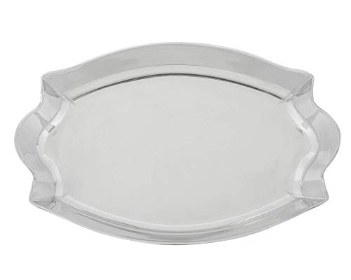 Arthur Court Designs Aluminum Scallop Oval Serving 16.5