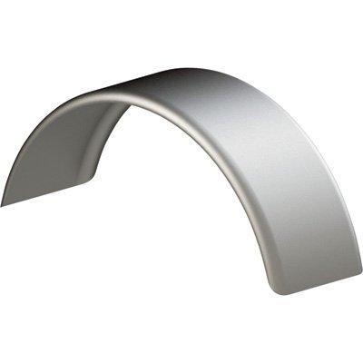 Tie Down Engineering Standard 44917 Fender Round Single Silver Steel Fits 14''-15'' Tire by Tie Down Engineering