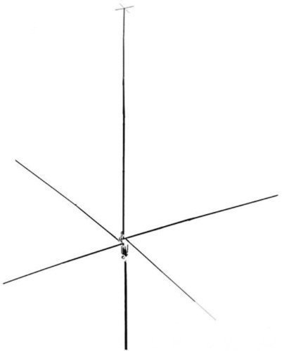 Hy-Gain SPT-500, 24-29 Mhz 10/12 Meter Vertical 5/8 Wave Antenna Super Performance