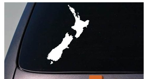 Amazon com new zealand country sticker truck car window laptop vinyl decal 6 sticker c651 arts crafts sewing