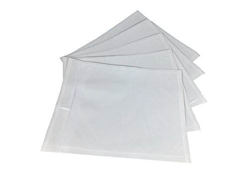 1000 Qty Clear Packing List Enclosed Invoice Envelopes 4.5'' x 5.5'' Self Sealing Pouches by Shipping Supply Warehouse