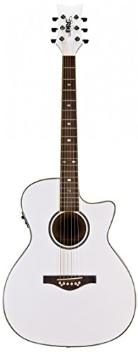 Daisy Rock DR6274-U Wildwood A/E Guitar Pearl White - Pearl Rock