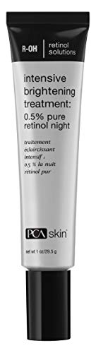 PCA SKIN Intensive Brightening Treatment 0.5% Pure Retinol Night - For Dull, Aging and Mature Skin, 1 fl. oz. ()