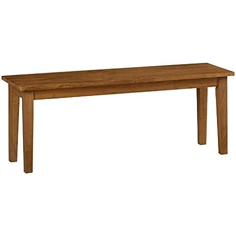 Jofran Simplicity Wood Kitchen Bench In Honey