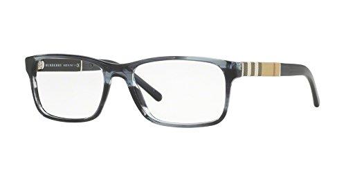 Burberry Men's BE2162 Eyeglasses Striped Blue - 17 140 53 Glasses
