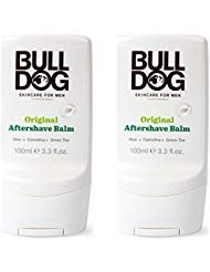 Bulldog Original After Shave Balm (Pack of 2) With Aloe Vera, Camelina Oil and Green Tea, For a Non-Sticky, Soothing,...